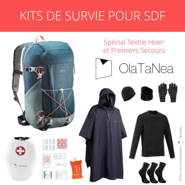 Kits de Survie OlaTaNea Premiers Secours et Textile