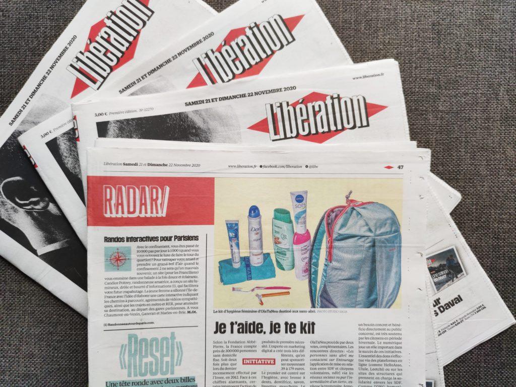 OlaTaNea dans Libération